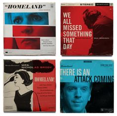 Genius. As a Homeland fan, I really love Ty Mattson's vintage-style jazz album covers inspired by the series.  (more atAirows)