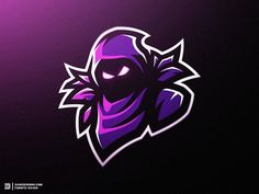 """Fortnite Raven Mascot Logo"" - Whats up guys, lately I've been loving the artwork and concepts in the Fortnite Game! So for practicing I've been simply creating ""Mascot Logos"" out of a few Skin con. Logo Esport, Ninja Logo, Raven Logo, Photo Manga, Game Logo Design, Esports Logo, Rabe, Gaming Wallpapers, Professional Logo Design"