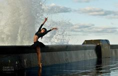 The power of water and the beauty of ballet
