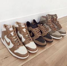 Dr Shoes, Swag Shoes, Nike Air Shoes, Hype Shoes, Me Too Shoes, Aesthetic Shoes, Brown Aesthetic, Jordan Shoes Girls, Girls Shoes
