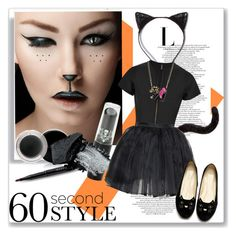 """""""Untitled #533"""" by cherry360 ❤ liked on Polyvore featuring schoonheid, Monsoon, Mary Kay, Gorgeous Cosmetics, Lisa Marie Fernandez, Olympia Le-Tan, Betsey Johnson, Halloween, 60secondstyle en animalcostume"""