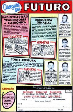 Cursos por correspondência - IUB - 1966