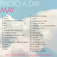 May Photo a Day