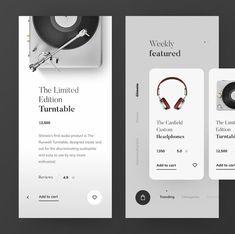 Infographics On Websites Product Ui Design Mobile, Mobile Application Design, Web Ui Design, Design Design, Design Layouts, Design Trends, Mobile Ui Patterns, Web Design Quotes, App Design Inspiration