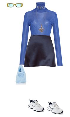 """Sin título #840"" by lolaibzamorano ❤ liked on Polyvore featuring Emilio Pucci, KC Designs, NIKE, Barneys New York and Gucci"
