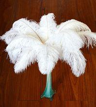 Prix promotionnel 20pcs14-16 pouces/35-40 cm plumes d'autruche naturel pour les…