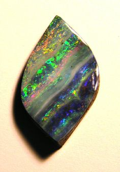 Nice stripy boulder opal (Bill Kasso)