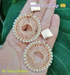 Crochet Earrings Pattern, Beaded Jewelry Patterns, Diy Necklace, Beads, Crafts, Deco, House, Soutache Jewelry, Crochet Jewellery