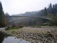 Robert Maillart's Rossgraben bridge