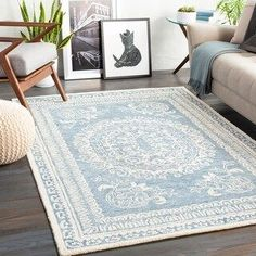 Shop for Copper Grove Zutphen Handmade Traditional Area Rug. Get free delivery On EVERYTHING* Overstock - Your Online Home Decor Store! Home Staging, Newcastle, Denim Rug, Tan Rug, Shops, Traditional Area Rugs, Cream Area Rug, Indoor Rugs, Accent Furniture