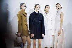 Christian Dior fall 2016 rtw - behind the scenes