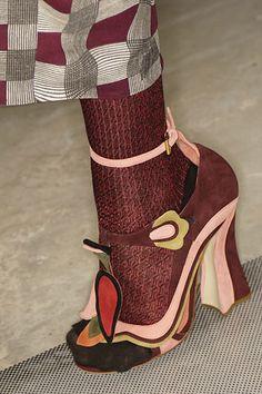 Prada 2008 RTW Художества, Модная Обувь, Творческий, Марк Шагал, Стиль 1b7fef12e76