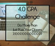 4.0 GPA Challenge: Get better grades without the stress @fromlilyblog