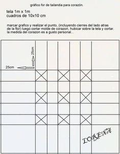 flor de tailandia Canadian Smocking, Say More, Hand Crochet, Bar Chart, Diy And Crafts, Crafty, Sayings, Smoking, Pillows