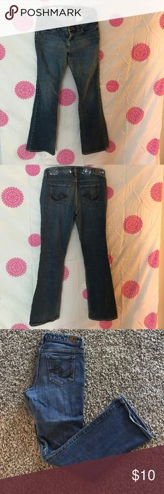 X2 Quality Denim Jeans are slim fit low rise boot cut. Great condition! Size is Juniors 2 and length is short. Pants Boot Cut & Flare