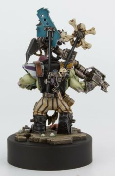 Ork Freebooter conversion.