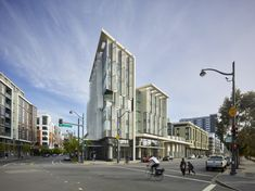 Completed in 2014 in San Francisco, United States. Images by Bruce Damonte. 1180 Fourth Street marks the corner of 4th & Channel streets as a gateway to San Francisco's Mission bay South, and the future Fourth Street...