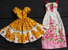 Printable Barbie Doll Clothes Patterns | don't know if you can still buy it, but these were sewn from patterns ...