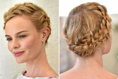 How to Get Kate Bosworth's Super-Romantic Braided Updo - Beauty Editor