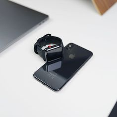 Black Edition Apple Watch Band from @bullstrap This combination is great for the Apple Heart Study.
