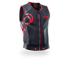 """The 100% newly designed WATSON COMP vest is a high tech """"tour de force"""" designed for one of the most demanding pro riders. We've loaded this vest with many of our most advanced features… 4XS Stretchable foam, Chill stopper lining and the V-Flex Shoulder pattern. The vest is super easy to get on and has a bit more impact protection than in its had. Our WATSON COMP sets the standard for lightweight comfort and performance."""