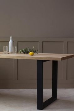 35 Metal And Wood Furnature Ideas Metal Table Legs Metal Table Steel Table