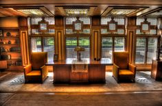Frank Lloyd Wright's Meyer May House VI, Grand Rapids, MI | by RI Alt