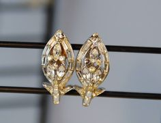 A personal favorite from my Etsy shop https://www.etsy.com/listing/559871962/vintage-earrings-corocraft-coro-1940s