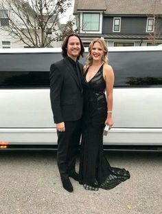 Tim and Jenika Foust ready for the CMAs