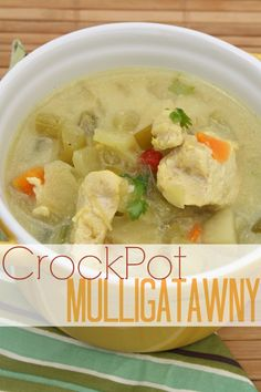 CrockPot Mulligatawny  No soup for you!?? Don't be silly, this makes tons :)