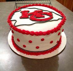 Chiefs Football Cake Cake sports Pinterest Cake