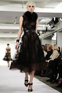 Oscar de La Renta Ready To Wear Fall Winter 2014 New York - NOWFASHION