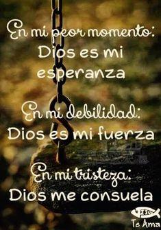Biblical Quotes, Religious Quotes, Faith Quotes, Bible Quotes, Bible Verses, Qoutes, Spanish Inspirational Quotes, Spanish Quotes, Quotes About God