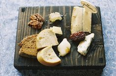 Aaaamazing!  Could use these personalized cheese boards as place settings.  Love! Wine Wedding Wednesday – Dutch Still Life Inspired Dinner – ONEHOPE Weddings