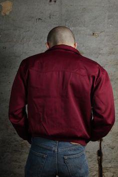 Jacket - Maroon Warrior Clothing