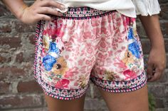 fortuityinc - Forever Floral Shorts , $29.00 (http://www.fortuityusa.com/forever-floral-shorts/)