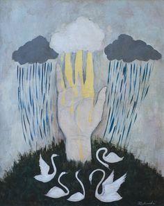 Rebecca Rebouche Family Tree Paintings
