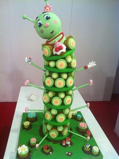 cupcake tower 3D - Cake by Torte decorate La Camilla