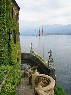 View from Villa Balbianello in Lenno - Lake Como - by ericm..