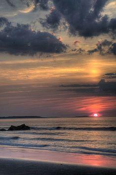August Sunrise - Ocean Park, Maine