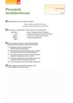 Początek średniowiecza Sprawdzian A - Spra. Personalized Items, Hand Lettering, Historia, Bible, Handwriting, Calligraphy, Hand Drawn Type, Hand Type, Penmanship