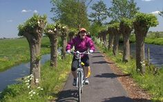 Riding a bicycle through Holland's 'Green Heart' #travel #cycling #visitholland