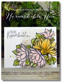 Stampin' Up! Remarkable You, ConnieCollins
