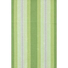 Thyme Ticking Woven Cotton Rug