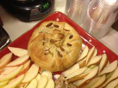 Baked Brie in Puff Pastry With Apricot or Raspberry Preserves. Photo by Shannonlady