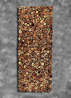 Items similar to Tree Branch Slice 9 Specie Wall Art King Headboard Wall Sculpture Wood Slice Bed Textured Rustic Tribal Primitive Shabby CUSTOM MADE on Etsy Tree Branch Art, Tree Branches, Tree Branch Crafts, Rustic Wall Sculptures, Wood Mosaic, King Headboard, Wood Slices, Diy Woodworking, Wood Wall Art