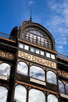 Old England Building Brussels Belgium