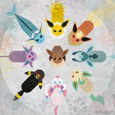 Original Pokemon Charley HarperInspired Artwork by MDugarchomp, $12.95