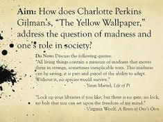 Image Result For The Yellow Wallpaper Short Story Quotes