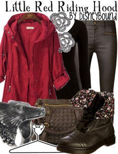 Disney Bound - Little Red Riding Hood